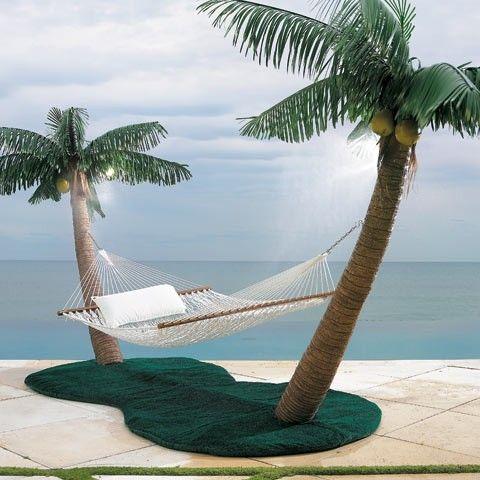 hamac avec palmiers