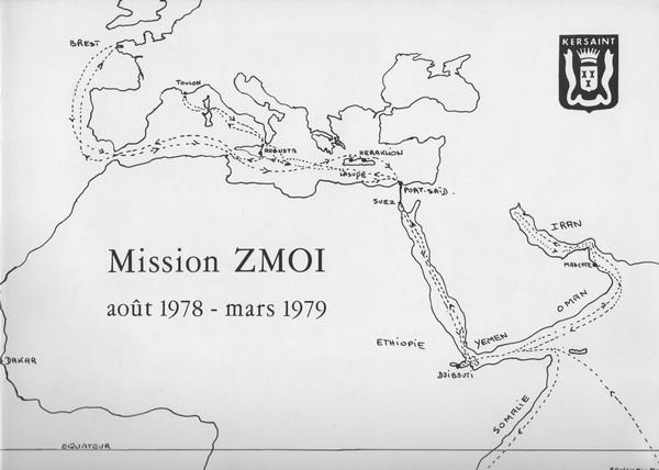 [Opérations diverses] Mission Z.M.O.I  Août 78 à Mars 79 avec le KERSAINT 061212040650244320