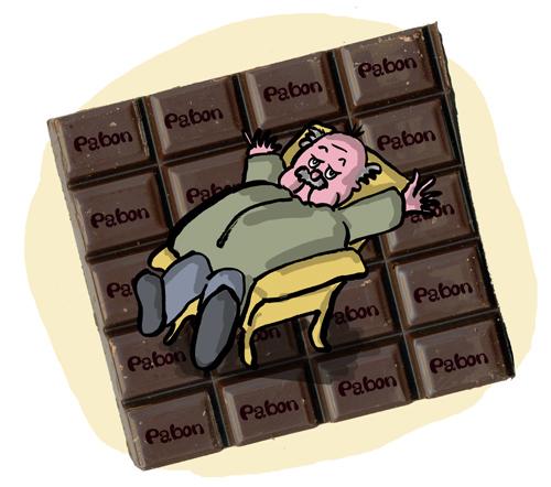 Mais il existe aussi des chocolats qui sont TRES bons …