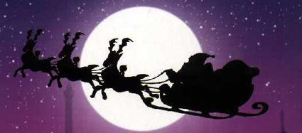 Ne vous méprenez pas : le père Noël tient bien les rennes !