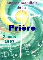 Journée mondiale de la prière le 1er vendredi de mars