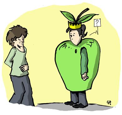 Reine des pommes