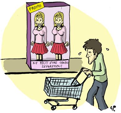 Deux filles pour le prix d'une !