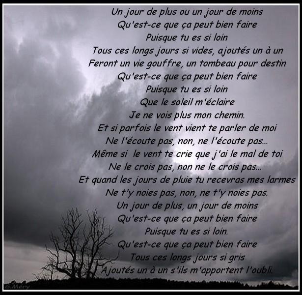 Textes Le Mal De Vivre