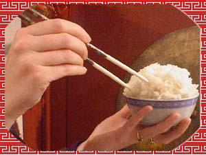 Les chinois nous mèneront tous à la baguette ! Surtout ceux qui riz !