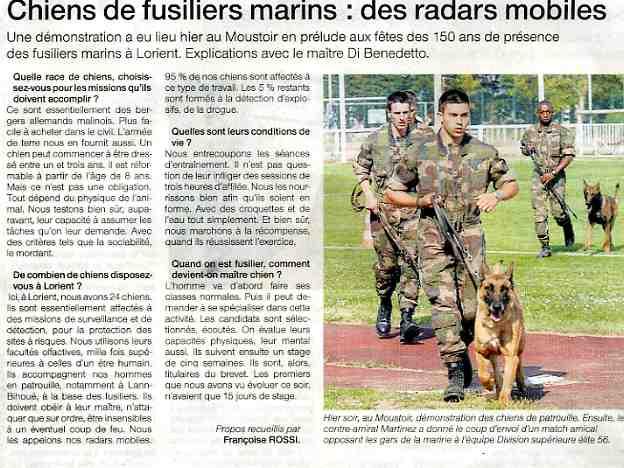 150 éme anniversaire des fusiliers marins à Lorient. 070609045329677621