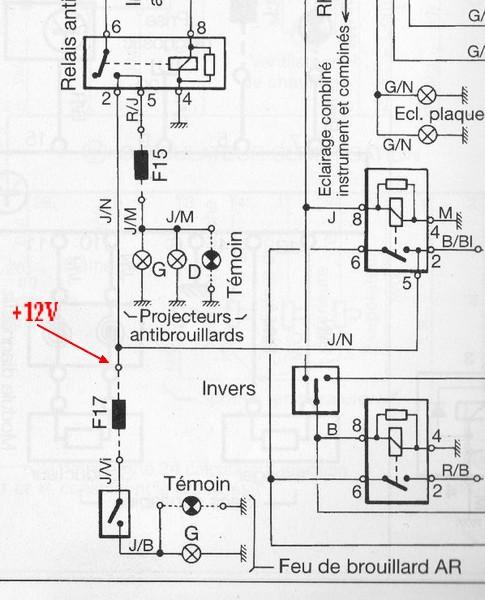 [BMW 328 i E36] Anti-brouillards AR qui ne fonctionnent plus 07090406411946761154508