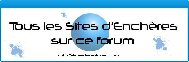 Forum  pour les utilisateurs des sites d'enchères 0709171150391251915