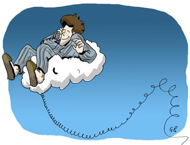 Sur mon nuage