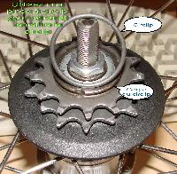 Pignon de roue libre : dépose Mini_0703271007282640426813