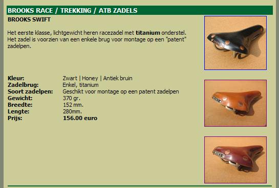 Selle Brooks B67 à 54 euros 0709251033531288578